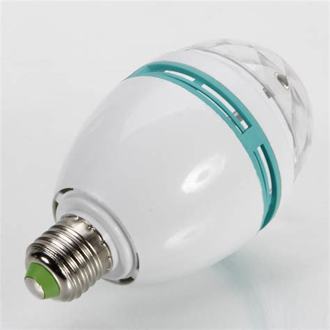 3w rotary colorful led bulb domestic stage