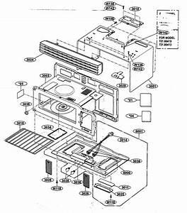 Oven Cavity Parts Diagram  U0026 Parts List For Model