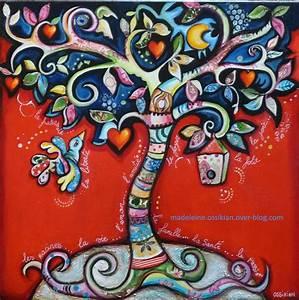 Arbre De Vie Decoration Murale : f les arbres de vie le blog de ~ Teatrodelosmanantiales.com Idées de Décoration
