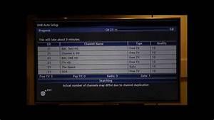 Panasonic Viera Tv Freeview Re-tune
