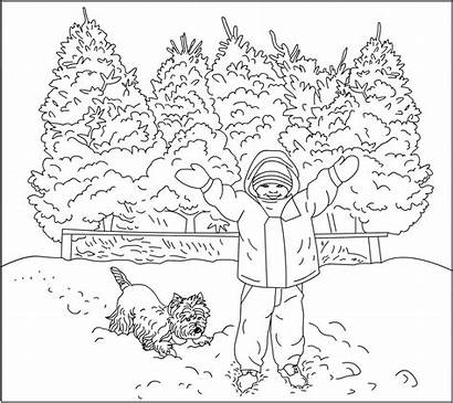 Coloring Winter Pages November Theme Books Nicole