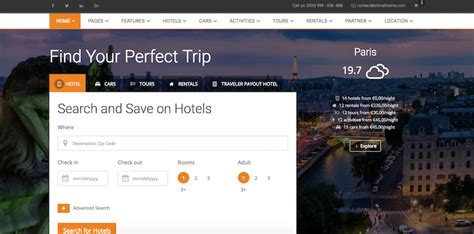 Download 11 Best Wordpress Travel Themes And Templates For
