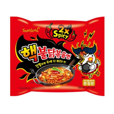 jual samyang spicy 2x spicy nuclear 3pcs