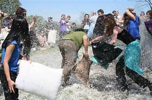 International Pillow Fight Day Los Angeles