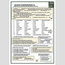 Reading Comprehension (2) Worksheet  Free Esl Printable Worksheets Made By Teachers
