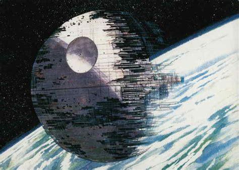 star wars death star  construction illustration