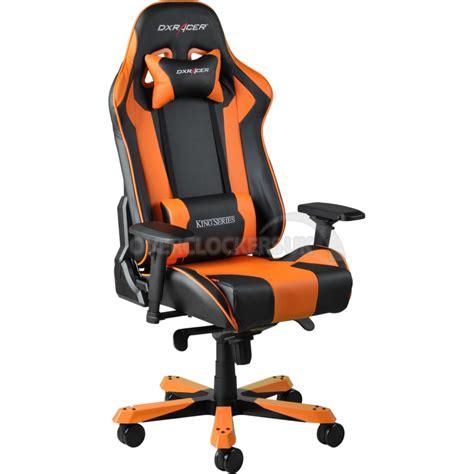 dxracer king series gaming chair black orange oh kf06 no