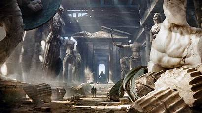 Greek Mythology Wallpapers Greece Statue Statues Pediment