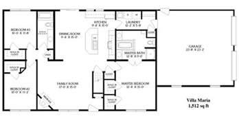 ranch style floor plans open best 25 ranch floor plans ideas on