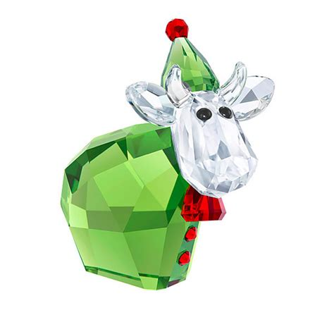 swarovski  santas helper mo figurine limited edition