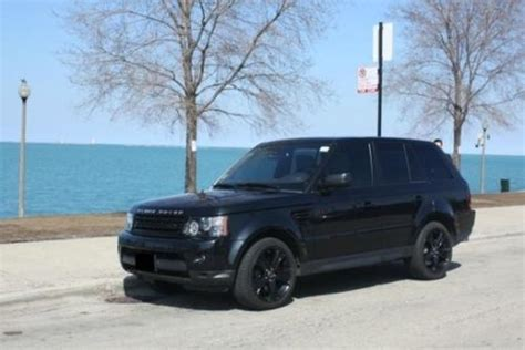purchase   range rover sport hse lux custom black