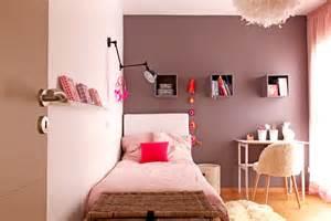 Rose Gold Wandfarbe : une chambre de fille rose poudr et taupe ~ Frokenaadalensverden.com Haus und Dekorationen
