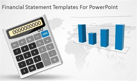 financial statement templates  powerpoint