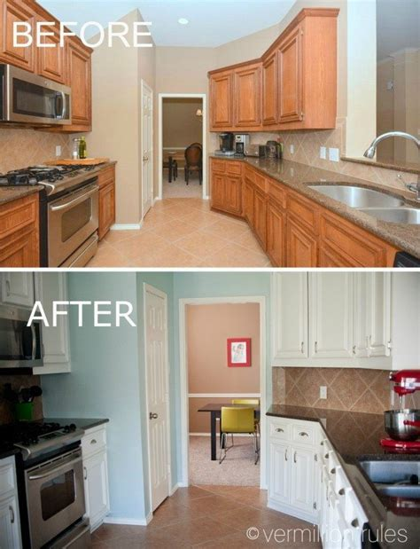 diy kitchen cabinet painting before and after a diy project painting your kitchen cabinets 152