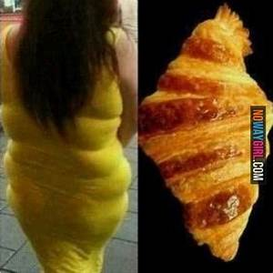 Fashion Fail: She Does Not Look Like A Croissant ...