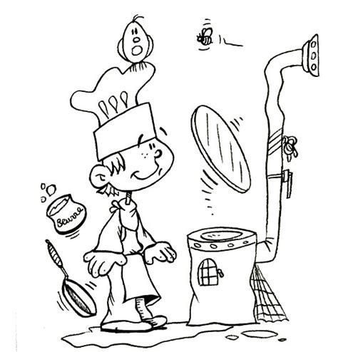 cuisiner avec un patissier coloriages et dessins pour les enfants sur le thème la