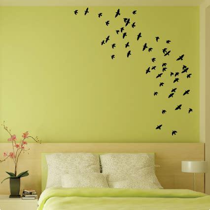 stickers chevaux pour chambre coller des stickers oiseaux dans votre chambre