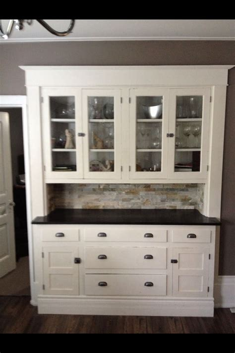 Cece Caldwell Chalk Paintbuilt In Hutch  For The Home. Bathroom Vanitys. Showers Without Doors. Backless Counter Stools. Shoes Closet. Belle Foret Vanity. Gray Tile Backsplash. Plato Cabinets. Builder Grade Cabinets