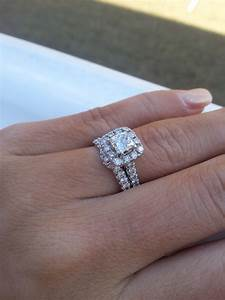 50 centre stone halo engagement rings weddingbee With is an engagement ring the same as a wedding ring