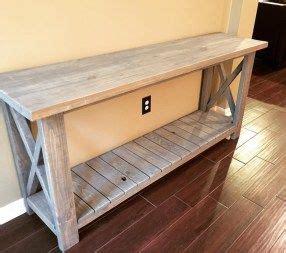 diy farmhouse console table diy furniture farmhouse