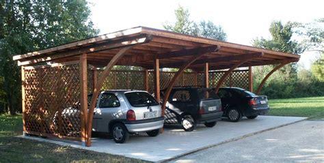 box modulare per auto modelli box auto in legno