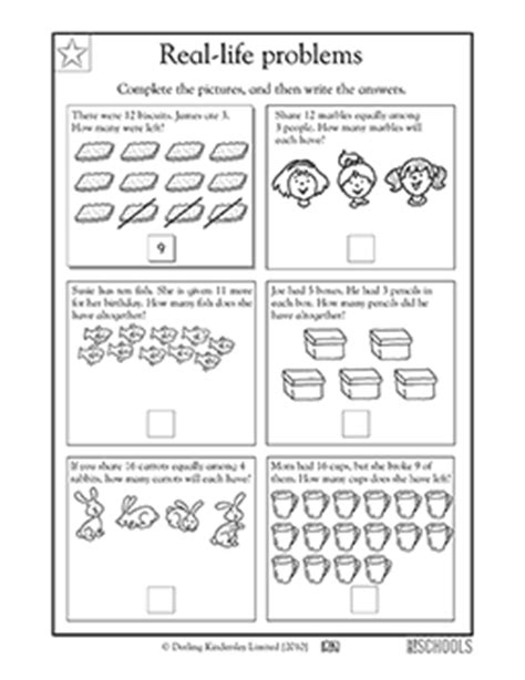 st grade math worksheets addition  subtraction word