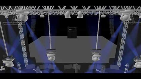 stage lighting simulator free my daslight stage youtube