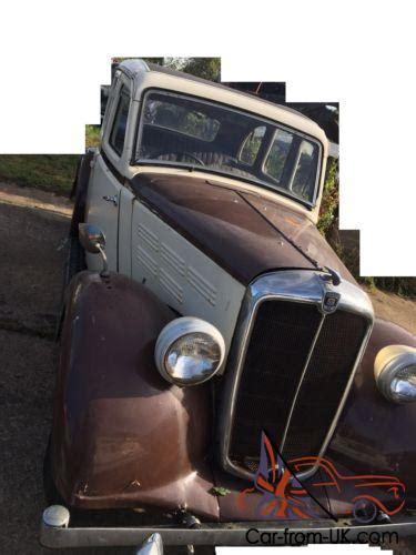 Morris 10 Prewar Saloon To Restore V5c 1939
