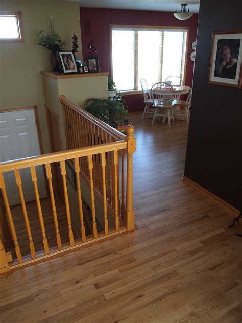 Hardwood in the Split Level Home: A Project Blog   Natural