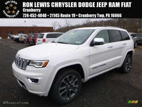 light brown jeep 2017 ivory tri coat jeep grand cherokee overland 4x4