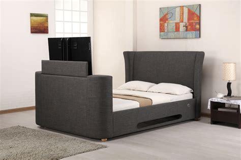 lb grey fabric  tv bed