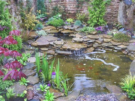 garden water features backyard landscaping ideas