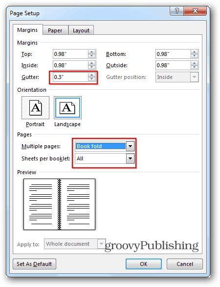 Word 2013 Book Template by How To Create Booklets Using Microsoft Word 2013