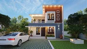 1500, Square, Feet, 3, Bedroom, Modern, Contemporary, Style, House
