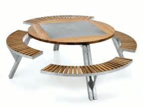 Table Banc Jardin by Table Pour Pique Nique Avec Bancs Int 233 Gr 233 S