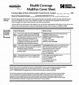 sample masshealth fax cover sheet 8 documents in pdf word With fax cover sheet masshealth