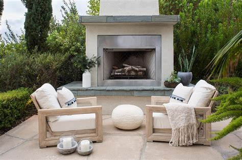 Stucco Fireplace Design Ideas