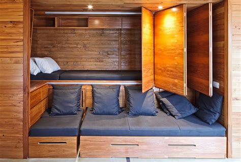 hiding bed in studio 50 super practical hidden beds to save the space digsdigs