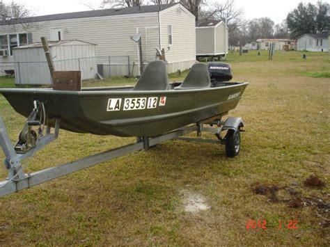 Flat Bottom Boat Louisiana by 2009 Alumacraft 12 Flat Bottom Jon Boat Flat Jon Boat
