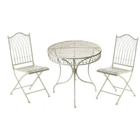 shabby chic childrens table and chairs shabby chic bistro set garden furniture set metal patio