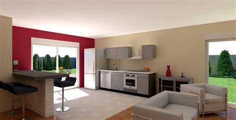 cuisine ouverte sur salon surface cuisine ouverte sur salon surface 18 maison