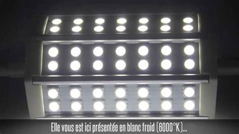 Ampoule Led R7s, 10w, Blanc Chaud / Blanc Froid