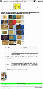 Smart Card  Sim Card  Interface Pinout Diagram