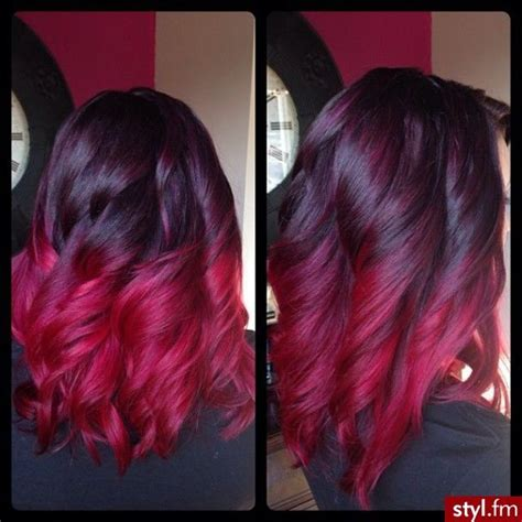 65 Best Burgundy Ombre Hair Images On Pinterest