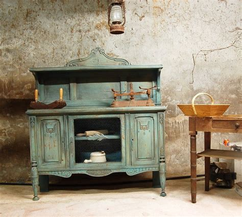 meuble cuisine vert meuble labo de cuisine vert olive vieilli