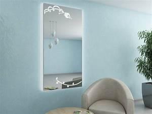 Wandspiegel Mit Licht : selena deko wandspiegel mit led licht ohne rahmen online kaufen ~ Orissabook.com Haus und Dekorationen