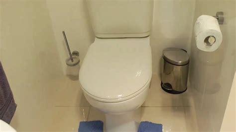 bathroom renovation repairing  glued leaking toilet