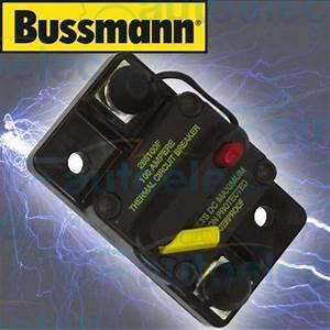 Bussman Circuit Breaker Dual Battery 100a Amp 12v 12 Volt