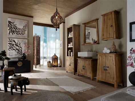 Moderne Badezimmermöbel Set by Badm 246 Bel Set Im Reto Look Aus Alt Holz Massivholzm 246 Bel