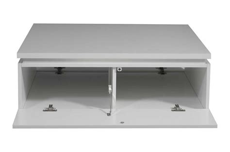 table basse carr 233 e laque blanc trendymobilier